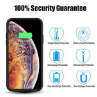 6000mAh Extended Rechargeable Charging Case Power Bank Charger For iphpne XS MAX