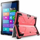 For Microsoft Surface Pro 6 5 4, i-Blason Hard Case FreeStanding Kickstand Cover