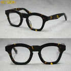 Japan Handmade Italy Acetate Eyeglass Frames clear lens Glasses Full Rim 1960's