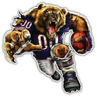 Chicago Bears NFL Angry Mascot Car Bumper Sticker Decal- 3'' or 5'' $3.75 USD on eBay