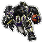 Baltimore Ravens NFL Mascot Car Bumper Sticker Decal - 3'' or 5'' $3.75 USD on eBay