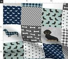 dachshund fabric for sale  USA