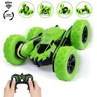 Kids Stunt Racing RC Car Remote Control Double Sided Running 360° Dancing Toy US
