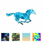 Horse Mustang Running - Vinyl Decal Sticker - Multiple Patterns & Sizes - Ebn381