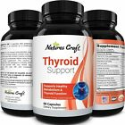 THYROID SUPPORT SUPPLEMENT w/Iodine Selenium 1070mg Capsules Boost Weight Loss $12.35 USD on eBay