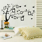 Family Tree Wall Decal Sticker Pvc Photo Picture Frame Home Decor Diy Removable