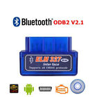 Mini ELM327 OBD2 II Bluetooth Auto Car OBD2 Diagnostic Interface Scanner Tool US