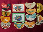 13 PC.RARE ANTIQUE BEER LEBEL 1960-1990 YEARS LATVIJA-LITHUANIJA-EESTONIA 13 PC.