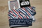 NEW Star Wars Mens Boxer Brief Red White and Blue $11.97 USD on eBay