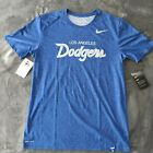 NEW! Nike LOS ANGELES DODGERS Royal Logo Touch Performance Dri-Fit Shirt - NWT on Ebay