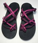 CHACO Zong X Ecotread Sandals Womens 8 Pink Purple
