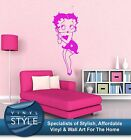 BETTY BOOP CLASSIC RETRO DECAL DECOR STICKER WALL ART COLOURS $19.85 AUD on eBay