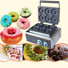 110V electric six pieces Donut Maker Machine, commercial donut making machine