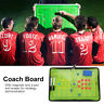 Magentic Foottball Strategy Board Foldable Equipment Set with Pen & Magents Hot