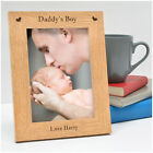 PERSONALISED Birthday Gifts for Daddy New Daddy from Son Baby Boy Photo Frame