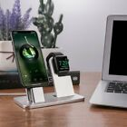 2-in-1 Charging Dock Phone Watch Stand Holder for Apple Watch for iPhone XD