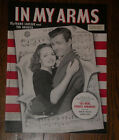 VTG 1943 Sheet IN MY ARMS Music~Donna Reed & Robert Walker~great cover photo