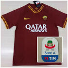 New 2019-2020 Roma Home/Away Soccer Jersey And the Serie A patch S-XL