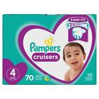 Pampers Cruisers Disposable Diapers Size 4 (22-37lbs.) *Free 2 day ship