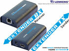Up to 120m, New V3.0 HDMI Extender,Video Audio Extend Over RJ45 Cat5e/Cat6 1080P