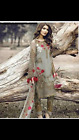 chiffon party wear Full embroidered ready made pakistani indian suit  3pc  Sale