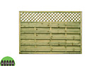 European fence panel, Wels Modern Garden Gate Fencing Panel Tanalised