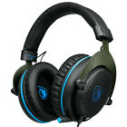 4X(SADES R3 PS4 Gaming Headset Bass Surround Stereo Casque Over Ear PC GameZ1E6
