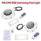 Swimming Pool Light RGB LED Bulb Underwater Wall Lighting +Remote Control $42.45 USD on eBay