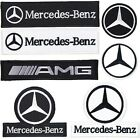 Mercedes Benz AMG Emblem embroidered patch Fabric applique Mark Motor Racing $2.79 USD on eBay