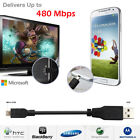 High Speed 2.0 USB A Male to Micro USB Sync & Charging Cable for Android phone