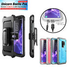 For Samsung Galaxy S9 / S9 Plus, SUPCASE UBPro Full-Body Case Cover +Screen+Clip