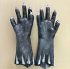 Black Panther Claw Gloves Avengers Endgame Cosplay Props Latex Black Gloves New