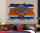 New York Knicks Wall Art Decal 3D Smashed Basketball NBA Wall Decor WL196 on eBay