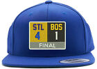 St Louis Blues Stanley Cup Champions Scoreboard Embroidered Snapback Hat