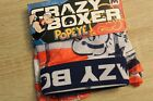 NEW Mens Popeye Americana Boxer Briefs by Crazy Boxer Patriotic American Flag