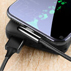 90° Elbow USB Type C Cable for Samsung S9 S8 A70 Fast Charging Phone Cord Lead