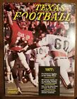 1977 Dave Campbell's Texas Football Magazine - Techs Rodney Allison w Fred Akers
