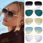 QUAY AUSTRALIA X DESI PERKINS High Key Rimless Sunglasses Regular + Mini Size