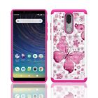 Phone Case for Coolpad Legacy Dual Layer Shockproof Crystal Cover Case