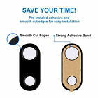 UK_ 5Pcs Rear Back Camera Glass Lens Cover+Adhesive Replacement for iPhone 7 Plu