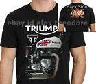 RARE ITEMS Triumph Motorcycle Classic Vintage Poster T-shirt S-5XL $23.58 CAD on eBay