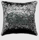 "CASABLANCE CRUSHED VELVET CUSHION COVERS 18X18"" / 45X45 - 7 AMAZING COLOURS"