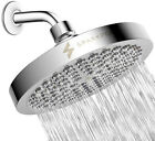 SparkPod Shower Head High pressure rain Luxury Modern Chrome Look Replacement