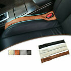 Car Seat Cushion PU Leather Crevice Gap Stopper Leakproof Protector Cover Pad