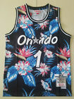 New Orlando Magic #1 Hardaway Basketball flowers jersey Size:S-XXL on eBay