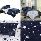 Zhh Star Duvet Cover Set, Galaxy Printing Bedding Set Space Theme Kids Bedding S