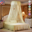 Bedding Dome Tent Lace Princess Bed Canopy Bedcover Mosquito Net Curtain Decor image