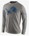 Nike Detroit Lions Stadium Noise Graphic Logo shirt NFL football sideline men's $24.99 USD on eBay