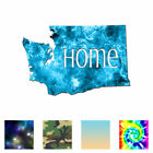 Washington Home State - Decal Sticker - Multiple Patterns & Sizes - Ebn3849