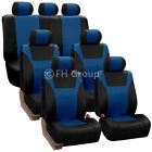 PU Leather 3 Row 7 Seaters Seat Covers Full Set for SUV Van 3 Colors Universal $79.99 USD on eBay